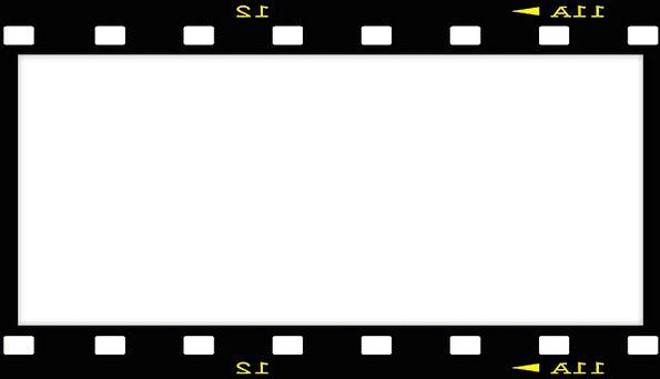Picture Frame Movie Black Dark Film Border Edge Negative