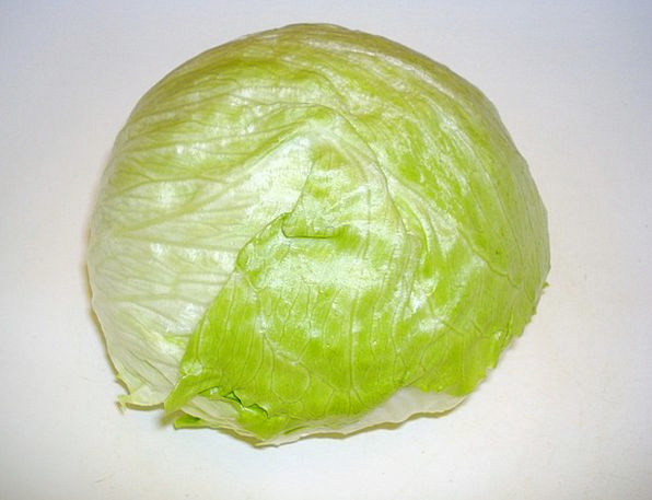 Salad Drink Food Head Of Lettuce Iceberg Lettuce V