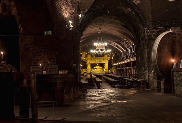 Cellar Basement Mauve Wine Barrels Wine Wine Stora
