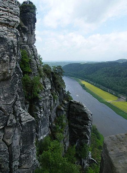 Elbe Stream Nature Conservation River Meissen Germ