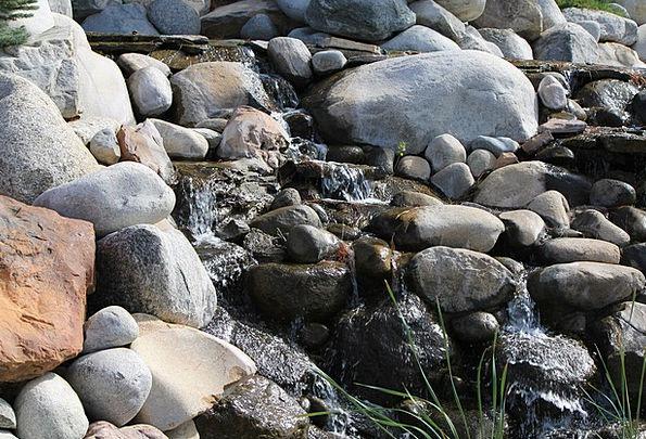 Rocks Pillars Landscapes Nature Water Aquatic Broo