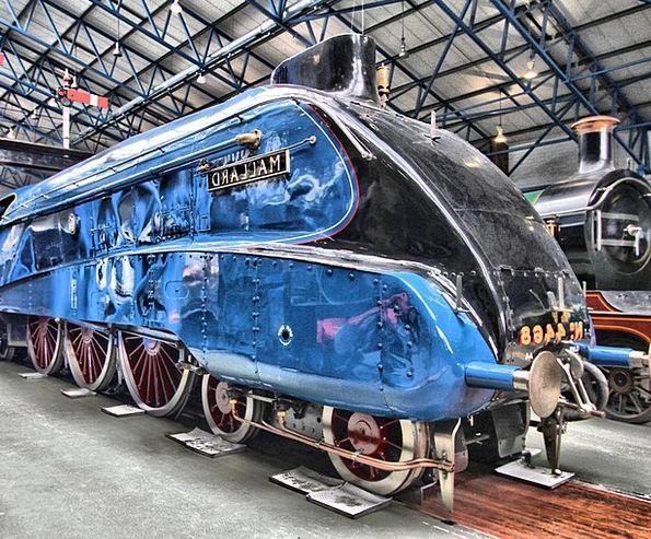 Locomotive Train Vacation Travel Tourism Railway T