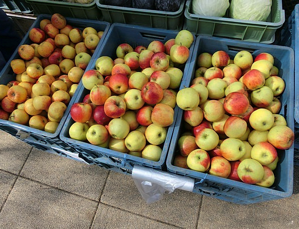 Apple Drink Jalopies Food Market Marketplace Crate