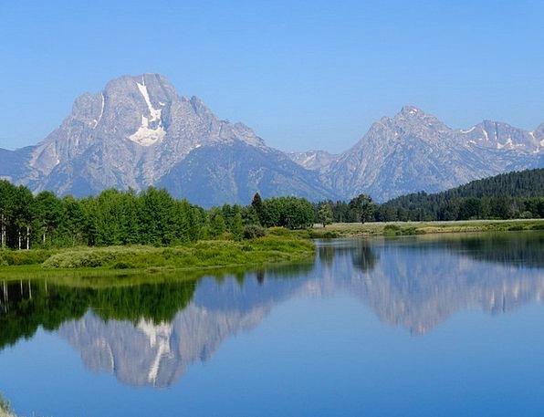 Grand Teton National Park Southwest Usa National P