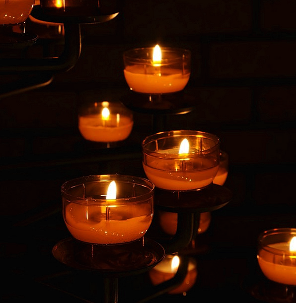Prayer Of Intercession Tapers Tealight Candles Lig