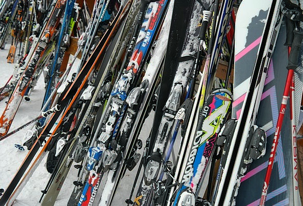 Ski Ski Poles Ski Equipment Skiing Winter Winter S