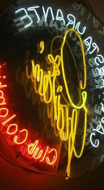 Neon Ad Advertisement Neon Sign Neon Lights