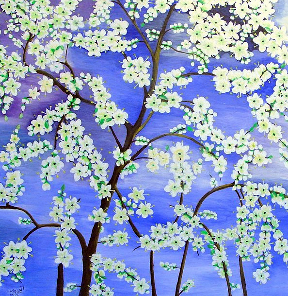 Tree Sapling Craft Plants Industry Painting Flower