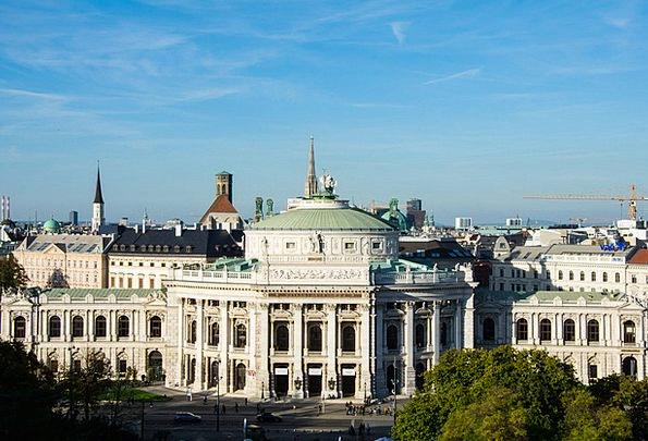 Burgtheater Buildings Architecture Autumn Fall Vie