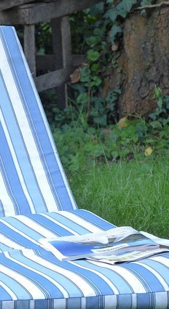 Deck Chair Fortnightly Rest Break Magazine Garden