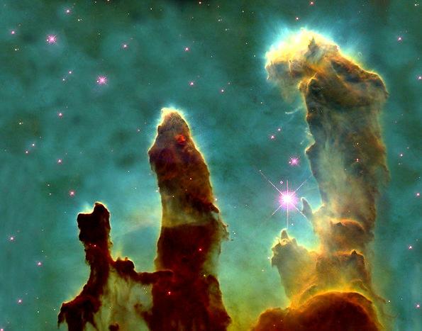 Eagle Nebula Fog Mist Ic 4703 Constellation Snake
