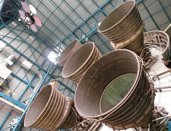 Engine Train Nasa Usa Apollo Program Space Rocket