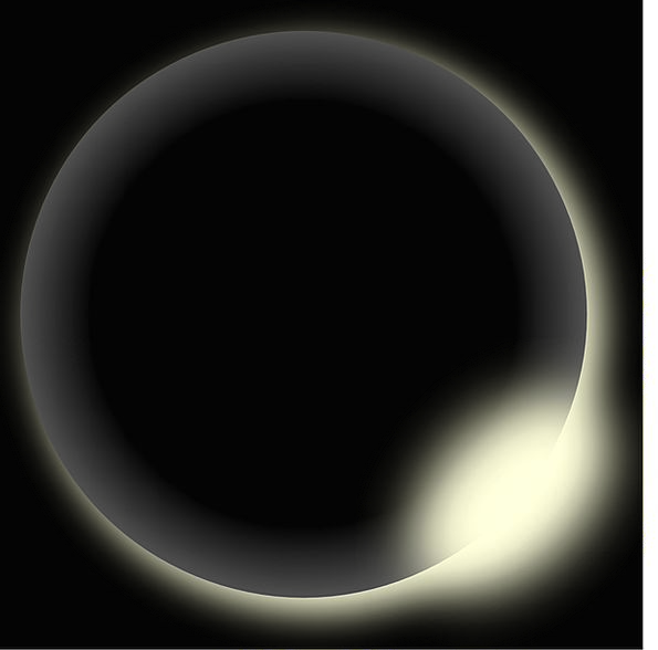 Eclipse Hide Astral Sun Solar Conjunction Black Da