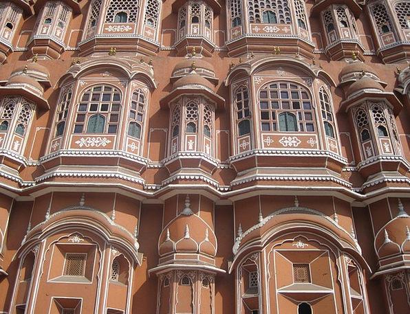 Hawa Mahal Buildings Fortress Architecture Palace