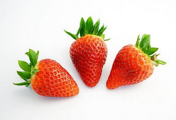 Strawberries Drink Sugary Food Red Bloodshot Sweet