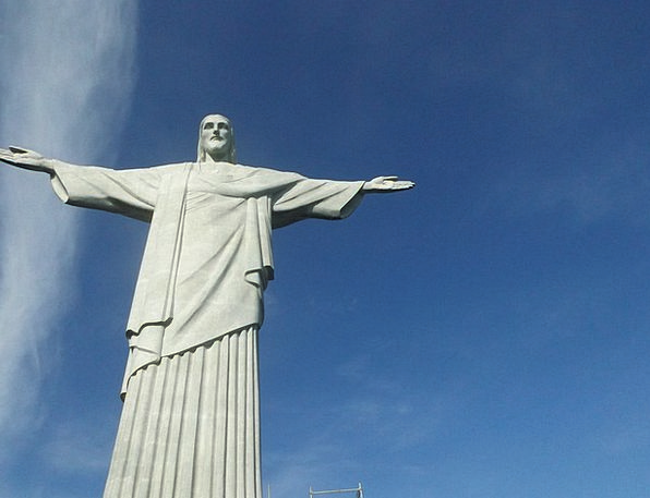 Christ The Redeemer Figurine Christ Statue Corcova