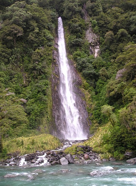 New Zealand Landscapes Cascade Nature Nature Count