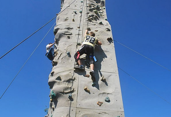 Climb Hike Pillar Wall Partition Rock Climbing Uph