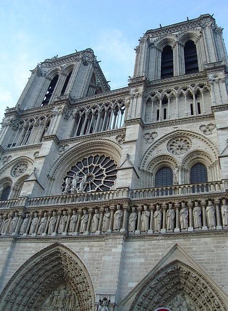 Our Lady Buildings Architecture France Paris Cathe