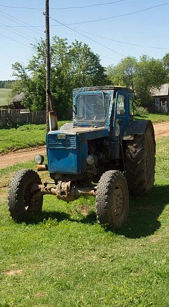 Tractor Traffic Ancient Transportation Transport C