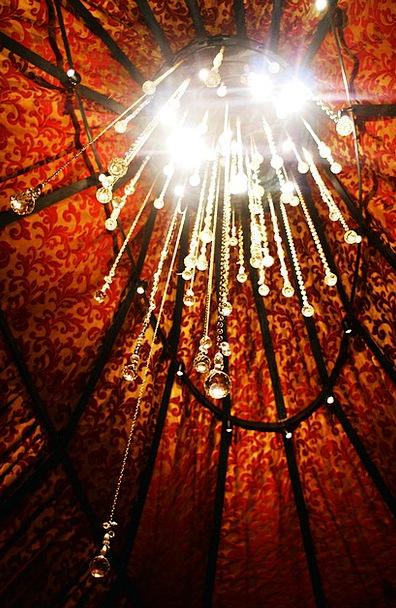 Chandelier Bright Lamp Uplighter Light Mica Ceilin