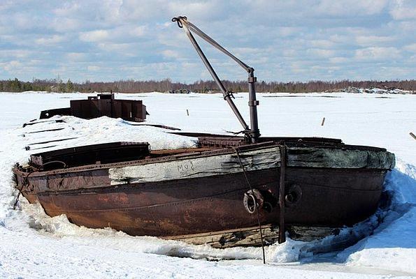 Finland Landscapes Ruin Nature Ship Vessel Shipwre