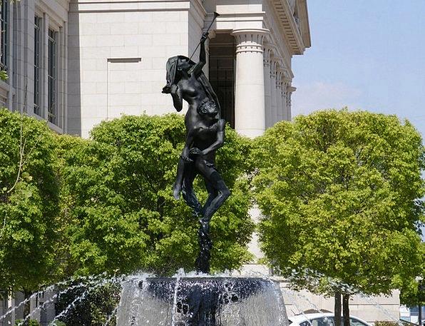 Nashville Figurine Man Gentleman Statue Woman Lady