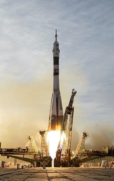 Rocket Skyrocket Soyuz Soyuz Rocket Spaceport Star