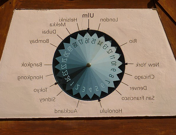World Clock Timepiece Ulm Clock Time Of Time Indic
