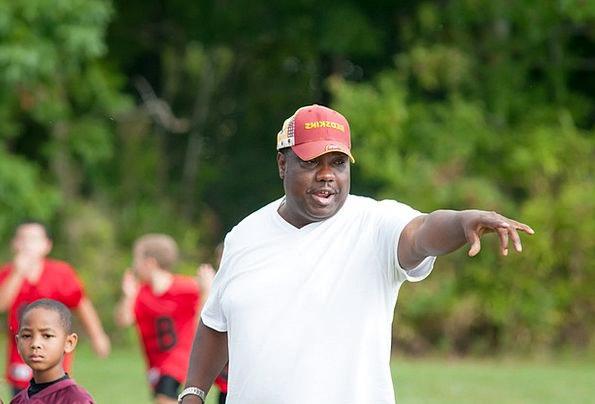 Coach Trainer Football Ball Flag Football People S