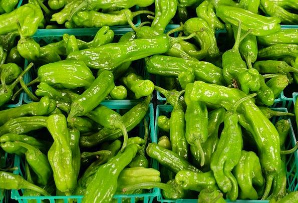 Green Peppers Sprinkles Vegetables Potatoes Pepper