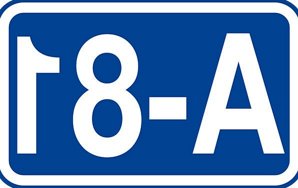 Roadsign Traffic Circulation Transportation Road T