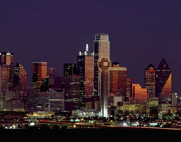 Dallas Buildings Architecture Skyline Horizon Texa