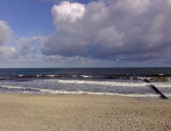 Baltic Sea Vacation Travel Beach Seashore Warnemün