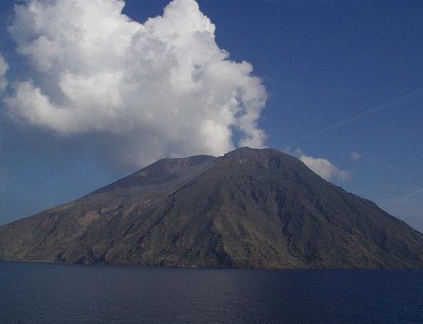 Stromboli Volcanism Volcano Hot Warm Sicily Sulfur