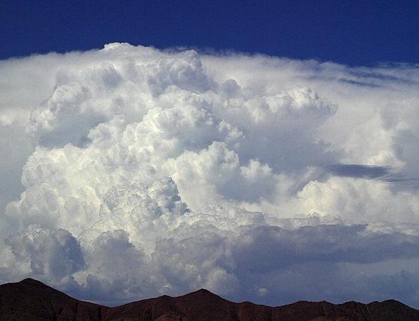 Thundercloud Vapors Sky Clouds Blue Azure White St