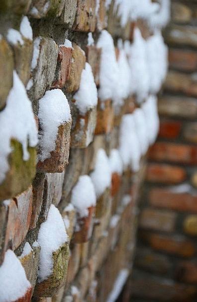 Brick Element Basement Winter Season Cellar