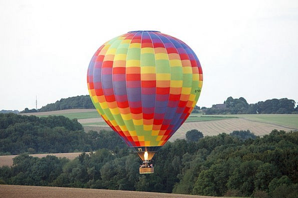 Hot Air Balloon Landscapes Impersonation Nature Fl
