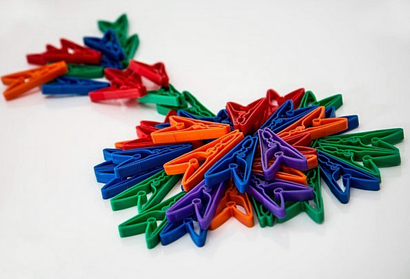 Clothes Pegs Pegs Pins Clothespins Multicolored La