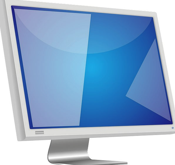 Lcd Screen Shade Monitor High Tall Definition Hard