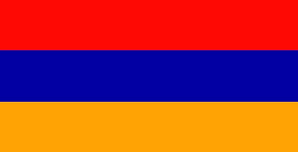 Armenia Monuments Places Flags Streamers Europe Wa