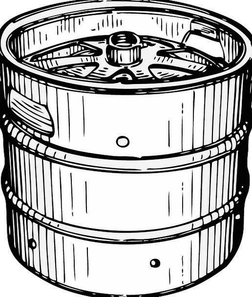 Container Ampule Barrel Tub Keg Drum Cask Free Vec