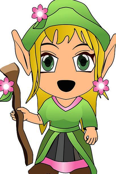 Elf Pixie Imaginary Fairytale Enchanted Fantasy Ma