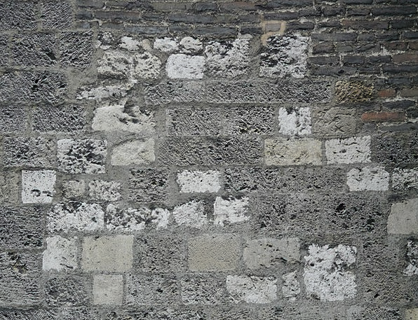 Wall Partition Pebble Stone Wall Stone Square Four