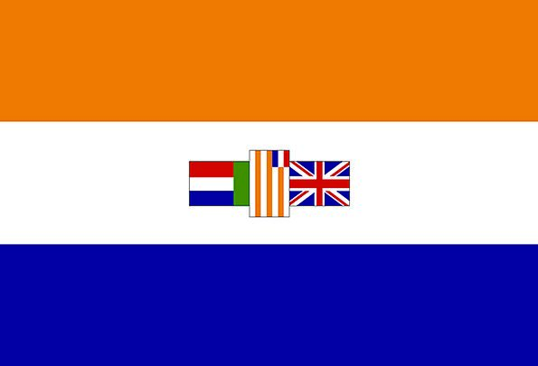 South Africa Standard Nation State Flag Country Re