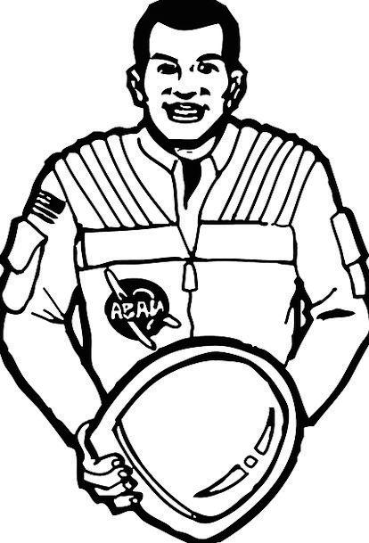 Astronaut Cosmonaut Gentleman Helmet Hat Man Space