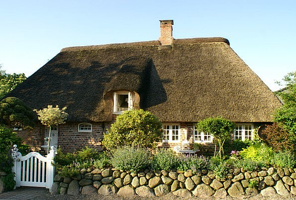 Bargum Thatched Roof Nordfriesland