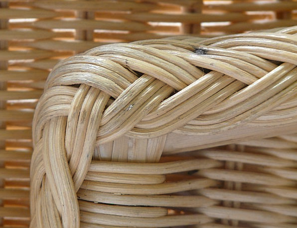 Basket Ware Textures Backgrounds Braid Ponytail Ko