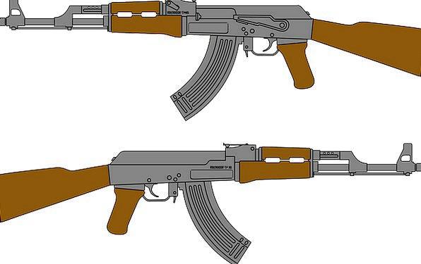 Gun Firearm Attack Rifle Ransack Assault Violence