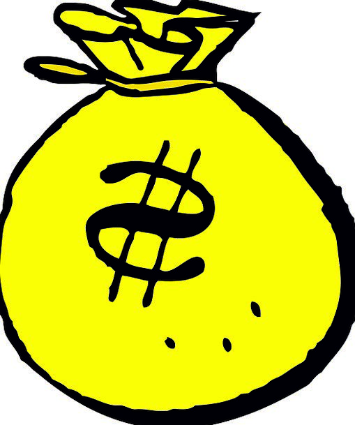 Money Bag Finance Business Currency Dollar Sign Ba
